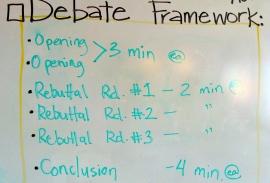 Debate Framework