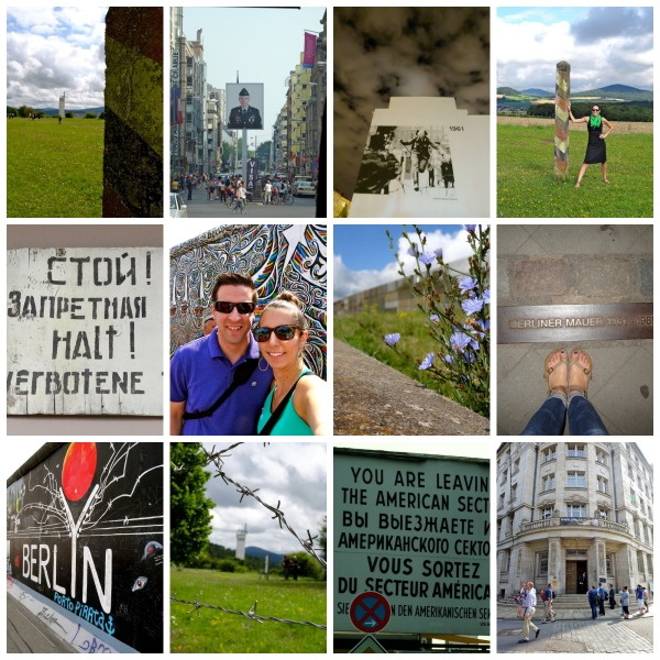 Berlin Wall Collage